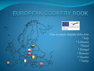EUROPEAN COOKERY BOOK