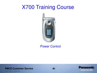 X700 Training Course