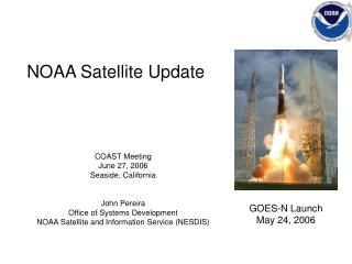 NOAA Satellite Update