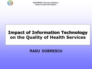 Impact of Information Technology on the Quality of Health Services