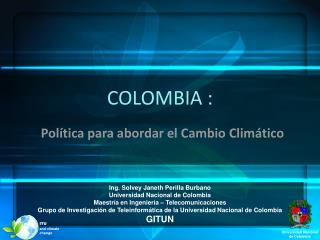 COLOMBIA :