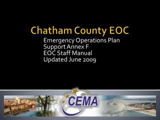 Chatham County EOC