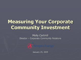 Measuring Your Corporate Community Investment