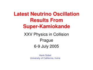 Latest Neutrino Oscillation Results From Super-Kamiokande