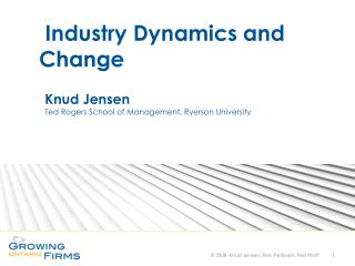 Knud Jensen Ted Rogers School of Management, Ryerson University