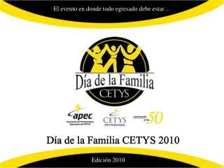 Día de la Familia CETYS 2010