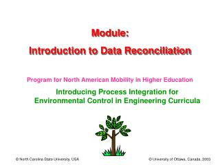 Module: Introduction to Data Reconciliation