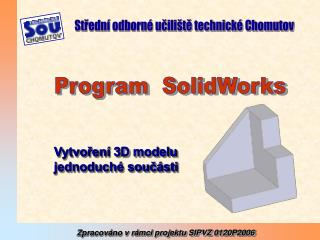 Program  SolidWorks
