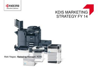 KDIS Marketing strategy FY 14