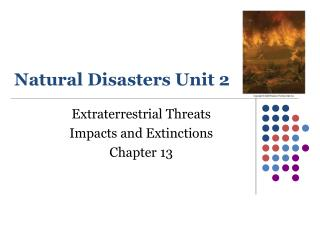 Natural Disasters Unit 2