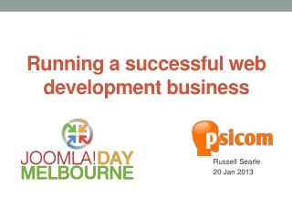 Running a successful web development business