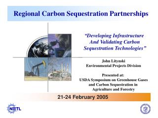 Regional Carbon Sequestration Partnerships