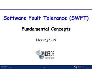 Fundamental Concepts Neeraj Suri