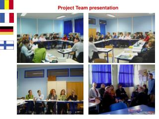 Project Team presentation