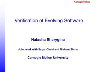 Verification of Evolving Software