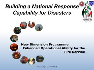 Building a National Response Capability for Disasters