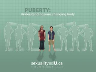 Here we will talk about: What is puberty? When changes happen to girls?  What are the sex organs?
