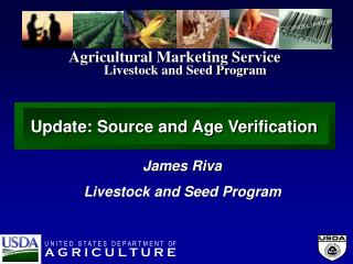 Livestock and Seed Program