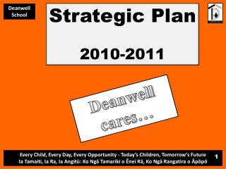 Strategic Plan 2010-2011