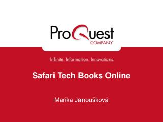 Safari Tech Books Online