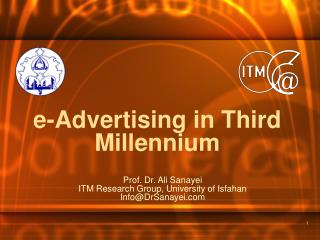 e-Advertising in Third Millennium
