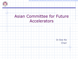 Future Accelerators