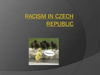 Racism  in  Czech republic