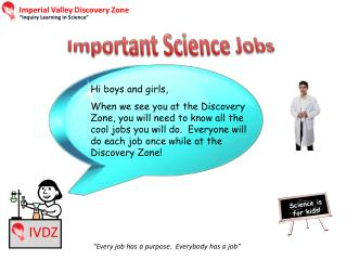 Imperial Valley Discovery Zone