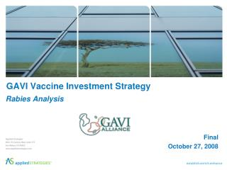 GAVI Vaccine Investment Strategy