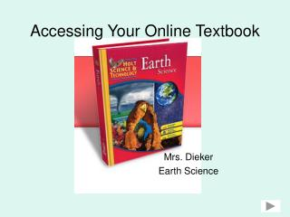 Accessing Your Online Textbook