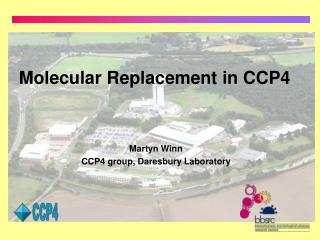 Molecular Replacement in CCP4