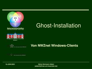 Ghost-Installation