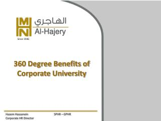 360 Degree Benefits of Corporate University