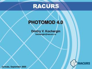 PHOTOMOD 4.0