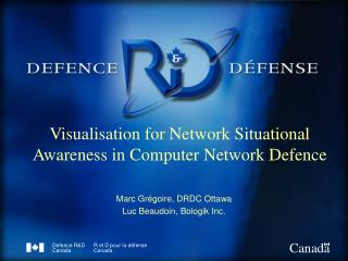 Visualisation for Network Situational Awareness in Computer Network Defence