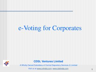 e-Voting for Corporates