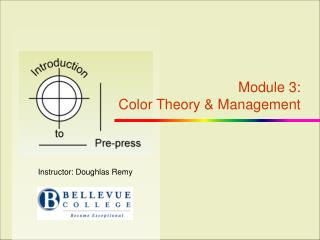 Module  3: Color Theory & Management