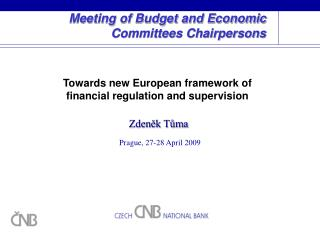 Meeting of Budget and Economic Committees Chairpersons
