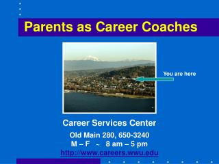 Parents as Career Coaches