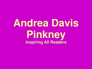 Andrea Davis Pinkney