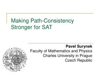 Making Path-Consistency Stronger for SAT