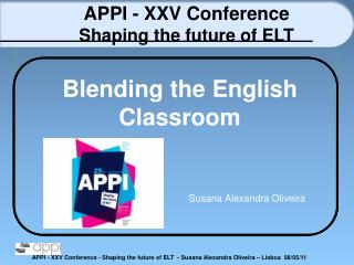 Blending  the  English Classroom