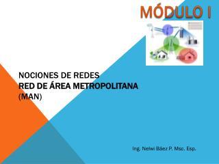 NOCIONES DE REDES  Red de Área Metropolitana (MAN)