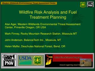 Wildfire Risk Analysis and Fuel Treatment Planning