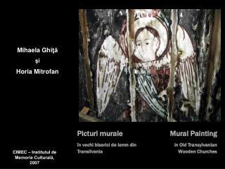 Picturi murale în vechi biserici de lemn din Transilvania