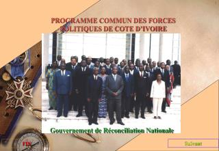 Gouvernement de Réconciliation Nationale
