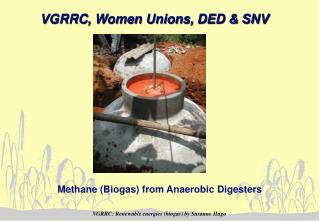 VGRRC, Women Unions, DED & SNV