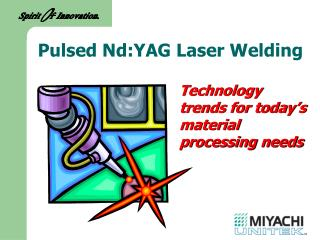 Technology trends for today's material processing needs