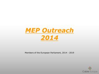 MEP Outreach 2014