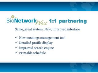 Same, great system. New, improved interface   New meetings management tool